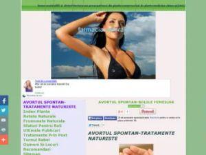 avortul spontan tratamente naturiste