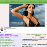 chist ovarian-tratamente naturiste - ovarian cyst-natural treatments