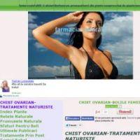 chist ovarian-tratamente naturiste - ovarian cyst-natural treatments