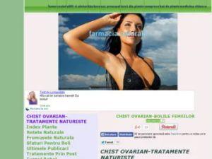 chist ovarian tratamente naturiste