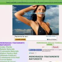 menoragia-tratamente naturiste(menorrhagia-natural treatments)