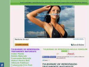 tulburari de menopauza tratamente naturista