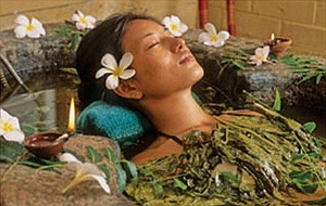 herbal baths