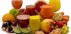 sucul proaspat din plante medicinale-fresh herbal juice